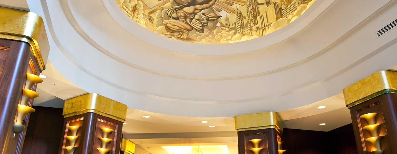 Hilton Boston Downtown/Faneuil Hall Hotel, USA– Decke der Lobby