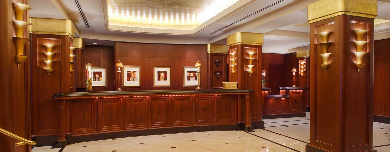 Hilton Boston Downtown/Faneuil Hall Hotel, USA– Empfangsbereich der Lobby