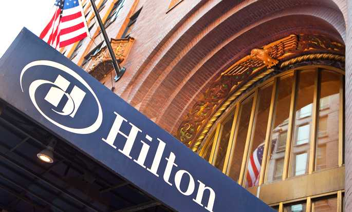 Hilton Boston Downtown/Faneuil Hall Hotel, USA – Außenbereich