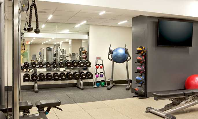 Hilton Boston Downtown/Faneuil Hall Hotel, Massachusetts, USA – Fitnesscenter