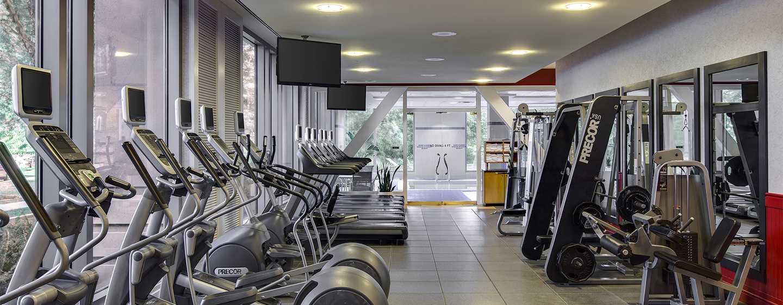 Hilton Boston Logan Airport Hotel, USA– Fitnesscenter