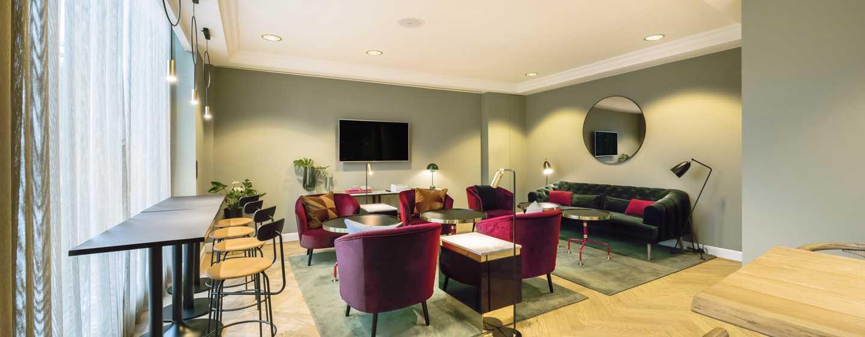 Hilton Brussels Grand Place Hotel, Belgien– Die Executive Lounge