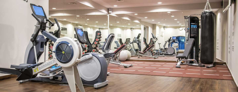 Hilton Brussels Grand Place Hotel, Belgien– Fitnessraum