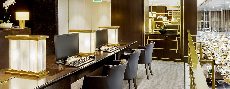 Hilton Budapest Hotel, Ungarn– Business Center