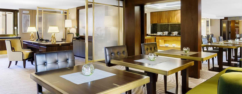 Hilton Budapest Hotel, Ungarn– Executive Lounge