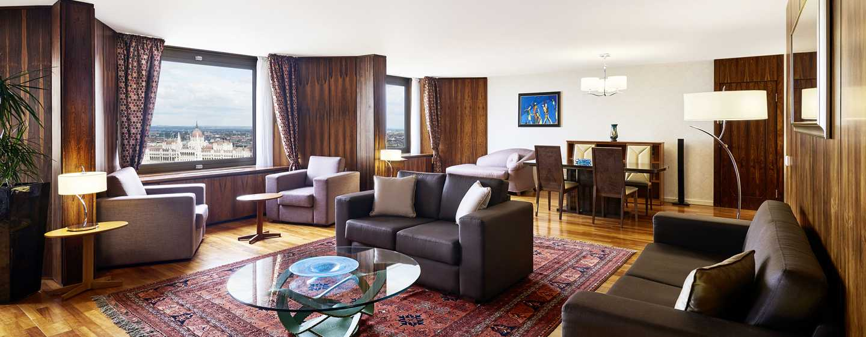 Hilton Budapest Hotel, Ungarn– Präsidenten Suite