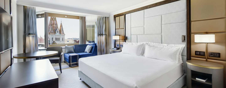 Hilton Budapest Hotel, Ungarn– Superior und Executive Zimmer