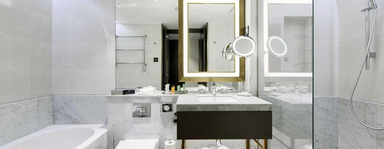 Hilton Budapest Hotel, Ungarn– Neue Badezimmer