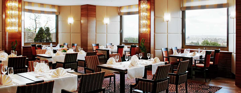 Hilton Budapest Hotel, Ungarn– Restaurant ICON