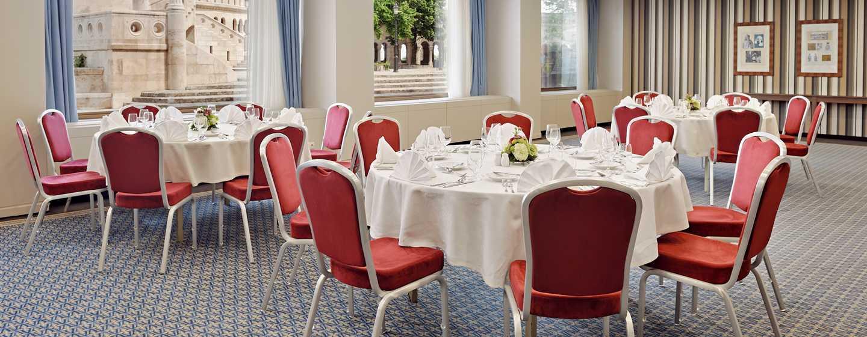 Hilton Budapest Hotel, Ungarn– Meetingraum Anjou