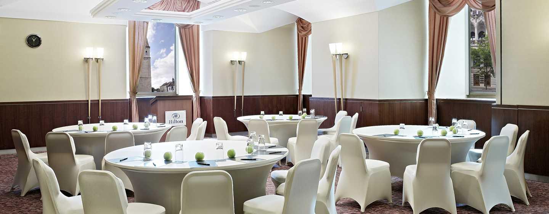 Hilton Budapest Hotel, Ungarn– Meetingraum Corvina