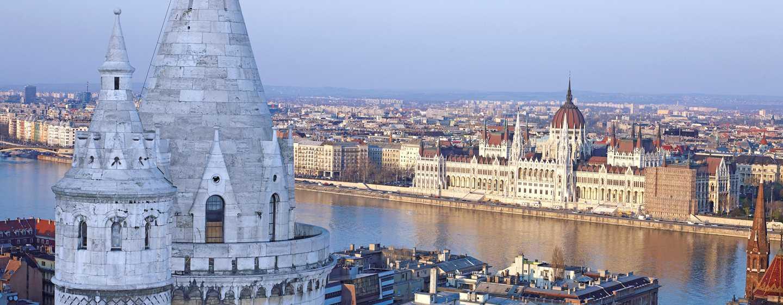 Hilton Budapest Hotel, Ungarn– Blick vom Hotel