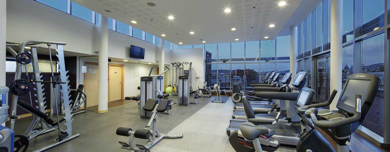 Hilton Budapest City Hotel, Ungarn– Fitnesscenter