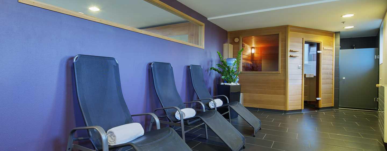 Hilton Budapest City Hotel, Ungarn– Sauna