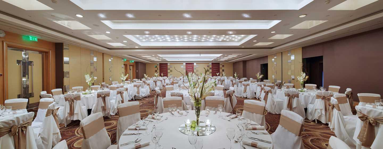 Hilton Budapest City Hotel, Ungarn– Ballsaal