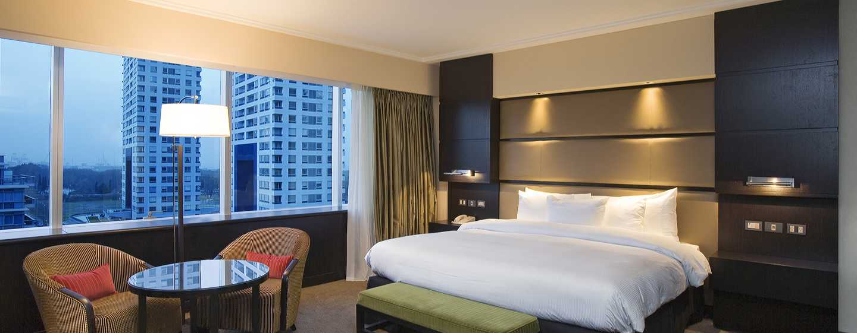 Hilton Buenos Aires Hotel, Argentinien– Schlafzimmer einer Executive Suite