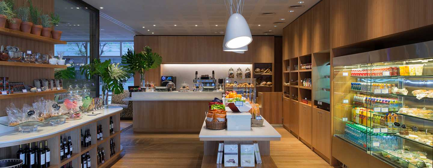 Hilton Buenos Aires Hotel, Argentinien– Grab-and-Go-Station Croûtons