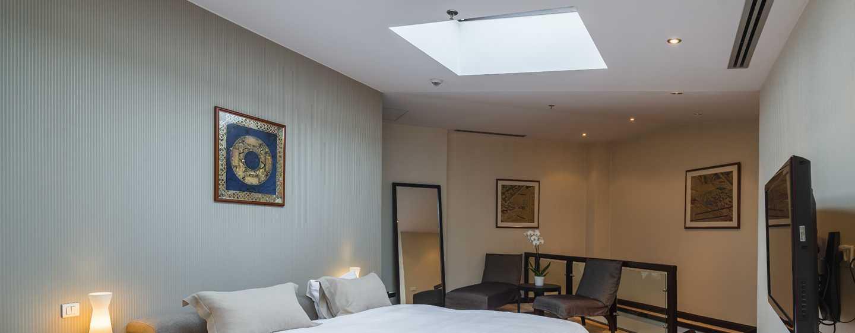 Athenee Palace Hilton Bucharest Hotel, Rumänien– Athenee Palace Suite– Schlafzimmer