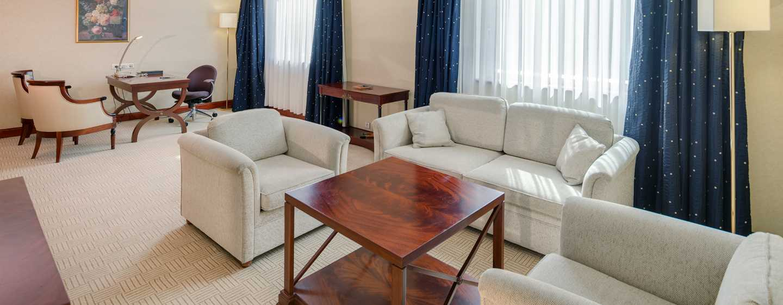 Athenee Palace Hilton Bucharest Hotel, Rumänien– Courtyard Suite