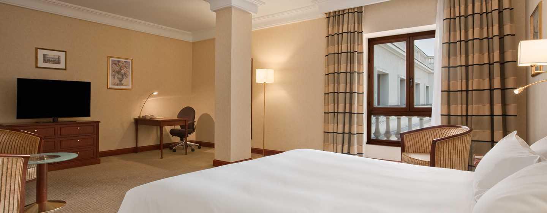 Athenee Palace Hilton Bucharest Hotel, Rumänien– Deluxe Zimmer