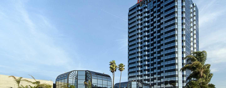Hilton Los Angeles Universal City Usa Außenbereich Des Hotels