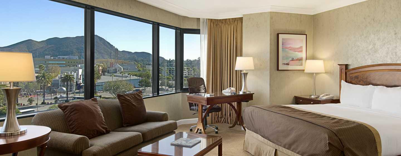 Hilton Los Angeles-Universal City, USA – Alcove King Zimmer