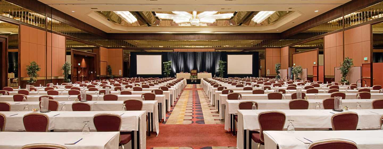 Hilton Los Angeles-Universal City, USA – Ballsaal mit parlamentarischer Bestuhlung