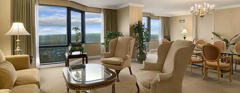 Hilton Los Angeles-Universal City, USA – Wohnzimmer der Governor Suite