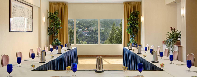Hilton Los Angeles-Universal City, USA – Meetingraum der Sierra Suite