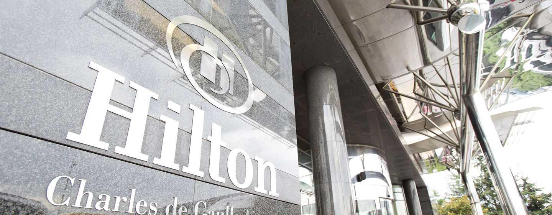 Hilton Paris Charles de Gaulle Airport Hotel, Frankreich– Außenansicht des Hotels