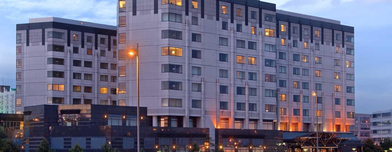 Hilton Paris Charles de Gaulle Airport Hotel, Frankreich – Außenansicht