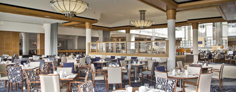 "Hilton Paris Charles De Gaulle Airport Hotel, Frankreich – Restaurant ""Skylight"""