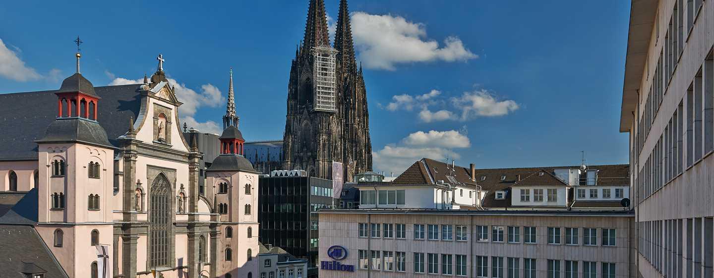 Hilton Cologne, Deutschland - Unweit des Kölner Doms befindet sich das Hilton Cologne