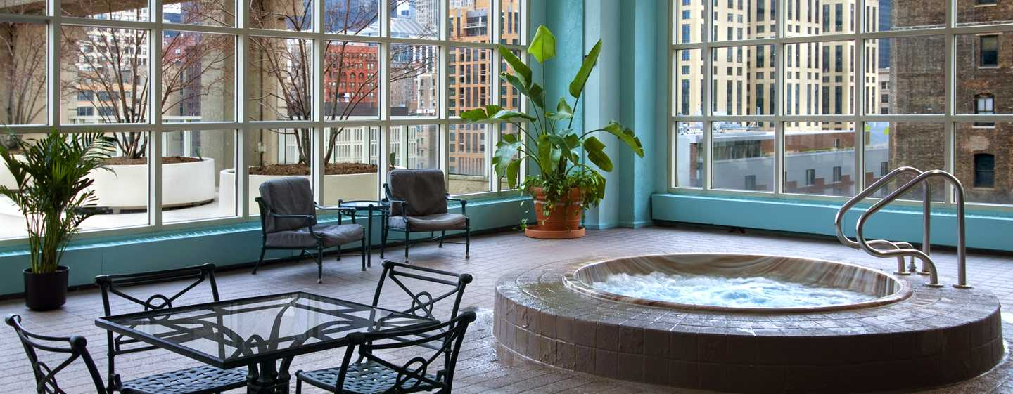 Hilton Chicago, Illinois – Poolbereich
