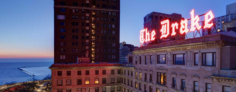 The Drake, A Hilton Hotel, Chicago, USA – Außenbereich des Hotels