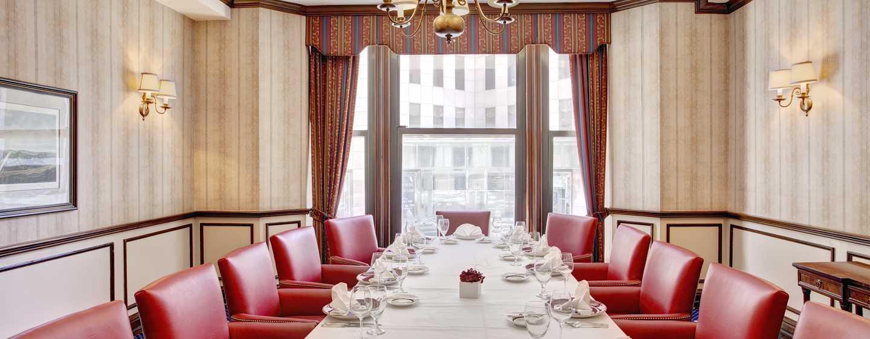 The Drake, A Hilton Hotel, Chicago, USA – Meetingraum
