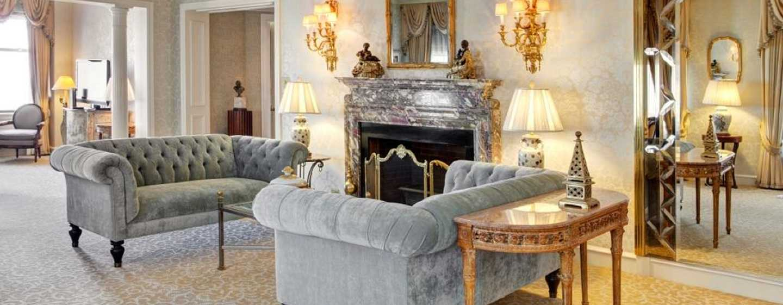 The Drake, A Hilton Hotel, Chicago, USA – Wohnzimmer Princess Diana