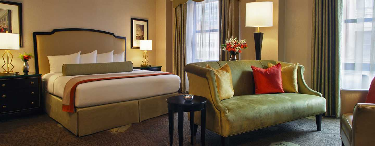 Palmer House® A Hilton Hotel, Chicago IL – Executive Zimmer mit King-Size-Bett