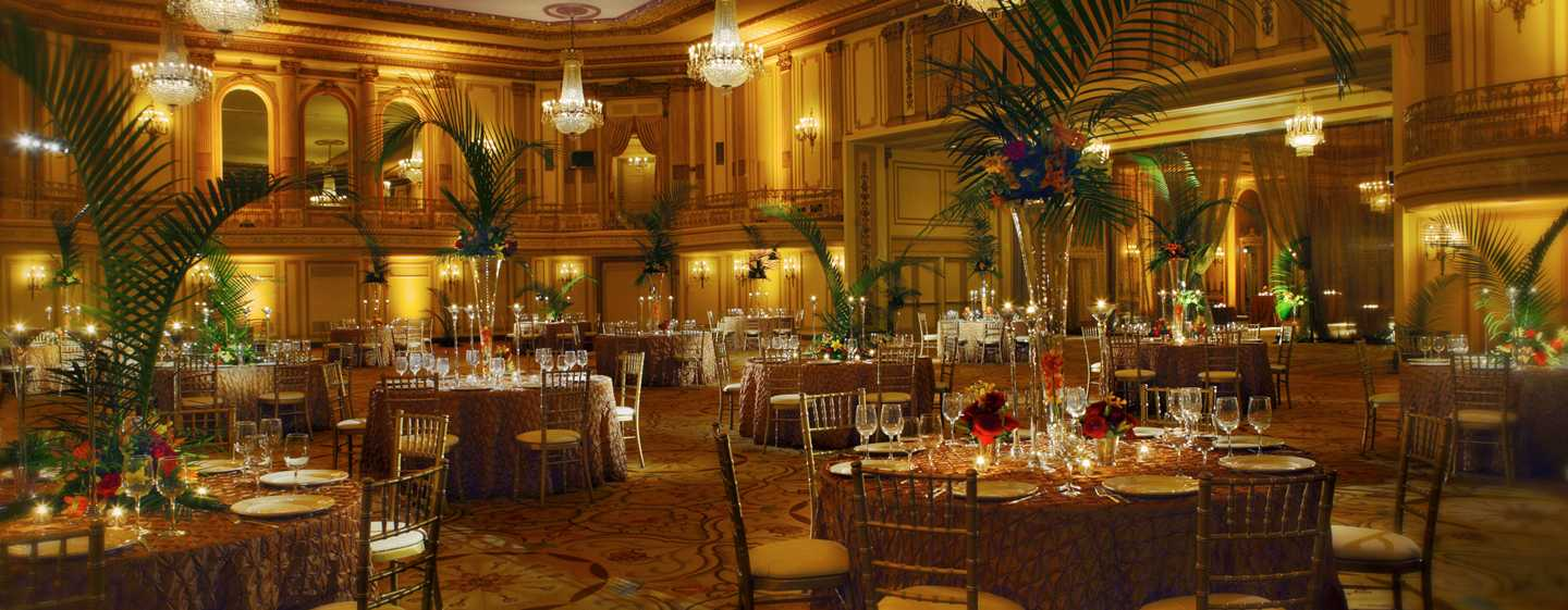 Palmer House® A Hilton Hotel, Chicago IL – Grand Ballroom