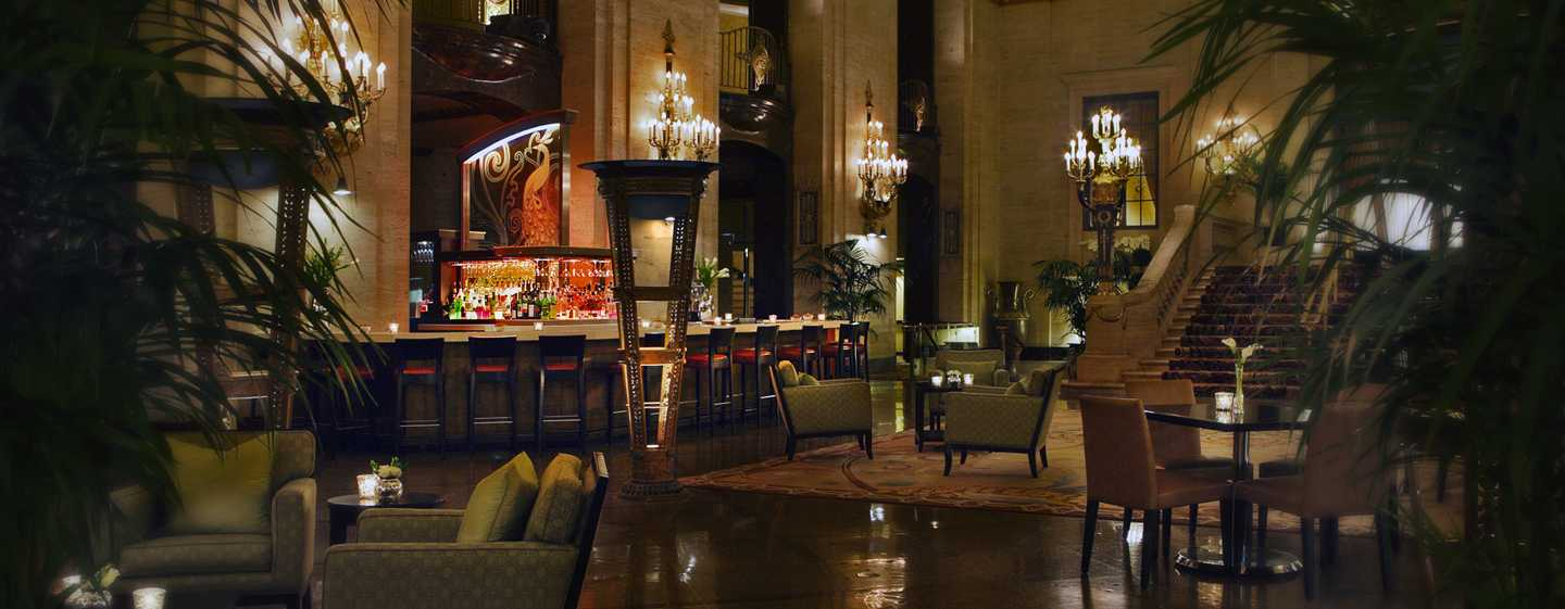 Palmer House® A Hilton Hotel, Chicago IL – Bar