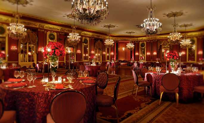 Palmer House® A Hilton Hotel, Chicago IL - The Red Lacquer Room