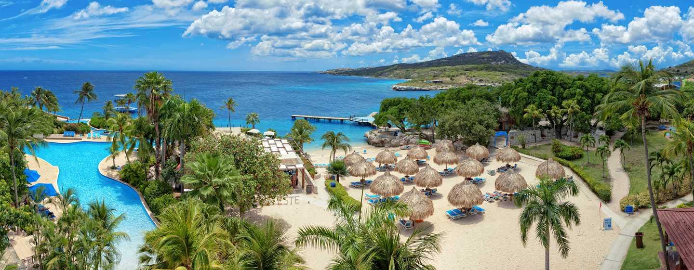Hilton Curacao Hotel, Curacao – Luftbild