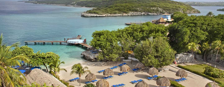 Hilton Curacao Hotel, Curacao – Blick auf den Strand