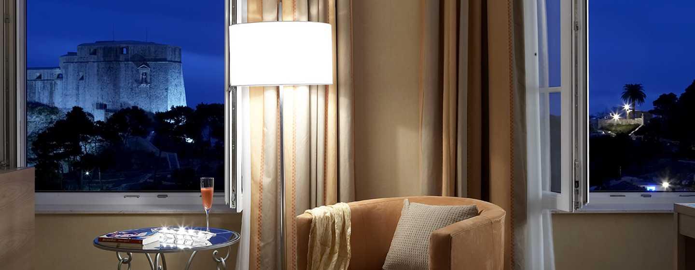 Hilton Imperial Dubrovnik Hotel, Kroatien – Hilton Imperial Zimmer, Detailansicht