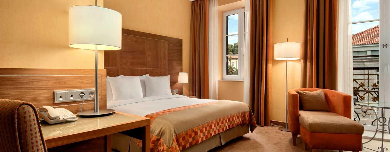 Hilton Imperial Dubrovnik Hotel, Kroatien – Hilton Executive Zimmer mit King-Size-Bett
