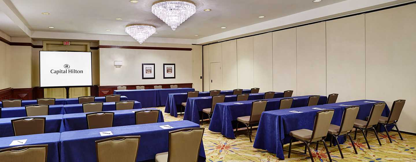 Capital Hilton Hotel, Washington D.C., USA – Federal Meetingraum