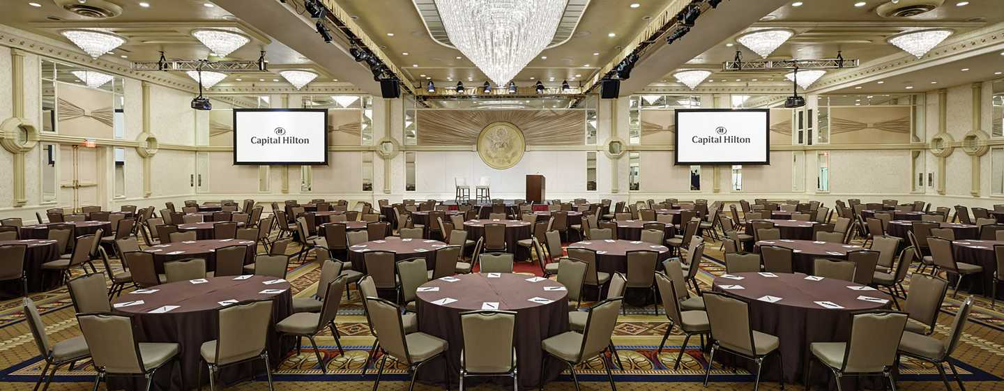 Capital Hilton Hotel, Washington D.C., USA – Presidential Ballsaal