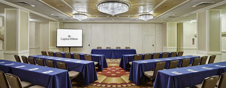 Capital Hilton Hotel, Washington D.C., USA– Meetingräume