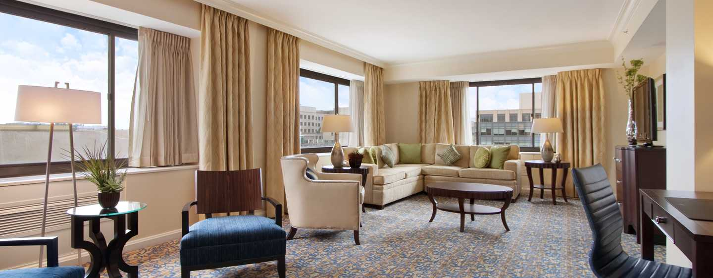 Capital Hilton Hotel, Washington D.C., USA – Wohnbereich der Truman Suite