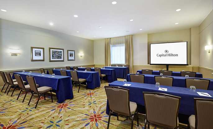 Capital Hilton Hotel, Washington D.C., USA – Meetingraum